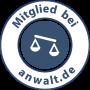 Siegel Mitglied bei Anwalt.de