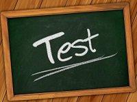 Tafel Kreide Test