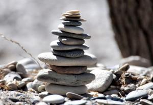 Steine Balance Gleichgewicht Anwalt Finanzen Schuldnerberatungen