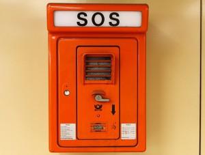 Alarmsignale Schulden SOS