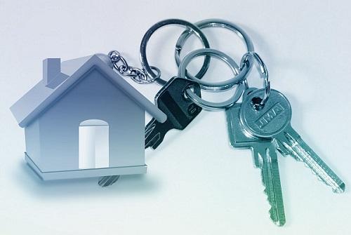 Immobilien-Schulden Schlüssel