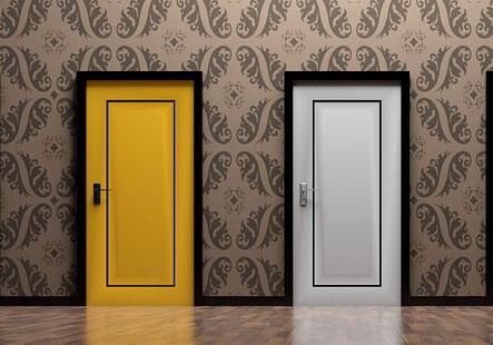 Entscheidung Türen Verbraucherinsolvenz Regelinsolvenz
