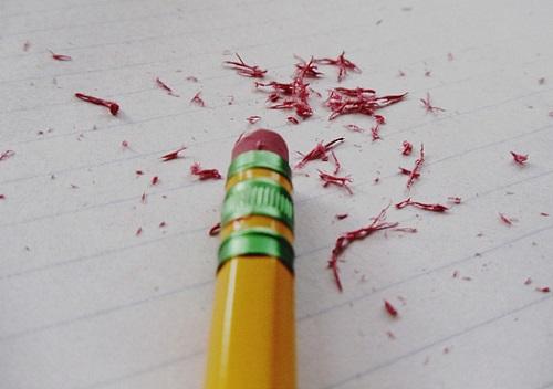 Radierer Stift wegradieren