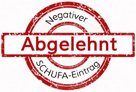 Negativer SCHUFA Eintrag