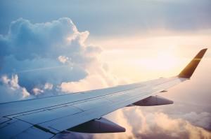 Auswandern mit Schulden Flugzeug