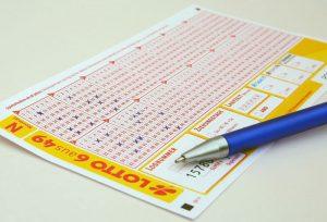 Lottoschein ausgefüllt Lottogewinn pfändbar