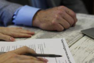 Vermögensauskunft unterschreiben gerichtsvollzieher